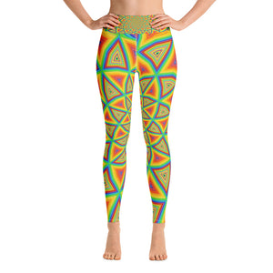 Colorspiral Yoga Leggings