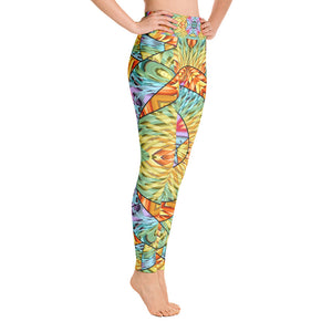 Eye of the Sun Yoga Leggings