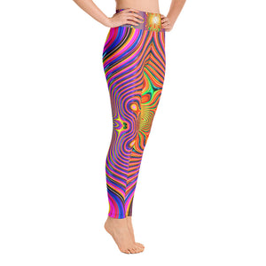 Energy Fields Yoga Leggings