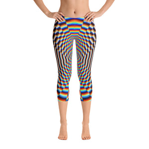 Psychosis Capri Leggings