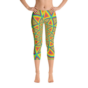 Colorspiral Capri Leggings