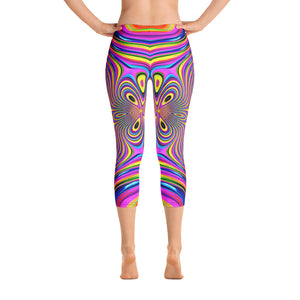Energy Fields Capri Leggings