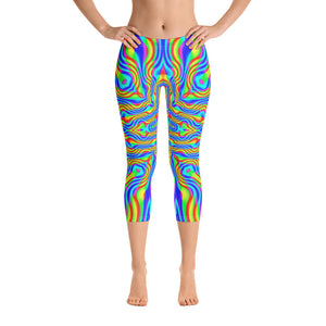 Higher Frequencies Capri Leggings