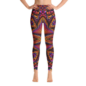 Elemental Fire Yoga Leggings