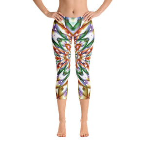 In Bloom Capri Leggings
