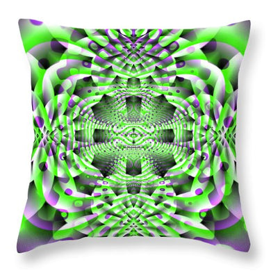 Mystic Motions - Throw Pillow