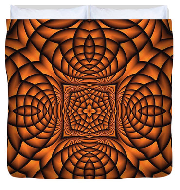 Pumpkin - Duvet Cover