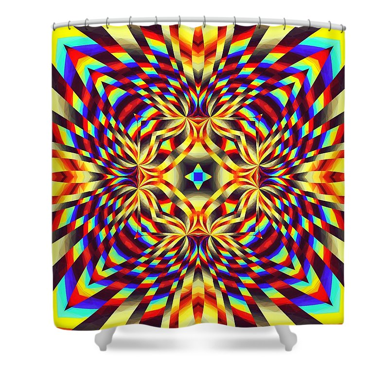 Pure Energy - Shower Curtain
