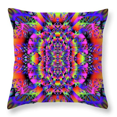Spectra - Throw Pillow