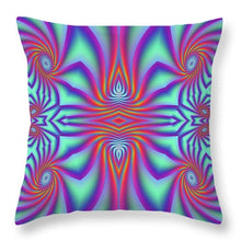 Spiral Factory - Throw Pillow
