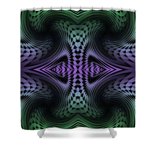 Unfolding - Shower Curtain
