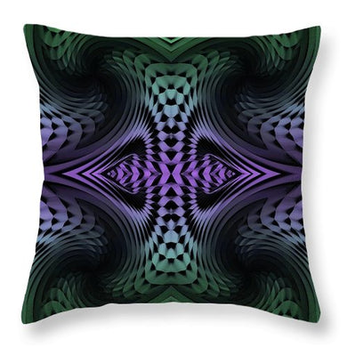 Unfolding - Throw Pillow