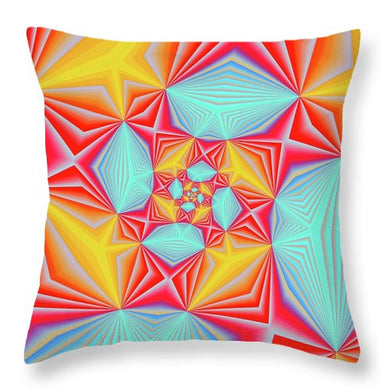 Vortex - Throw Pillow