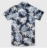 HAWAIIAN SHORT SLEEVE BUTTON DOWN
