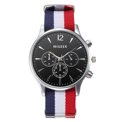 MiGEER FRENCH ANALOG WATCH