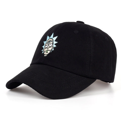 RICK & MORTY EMBROIDERED BALL CAP