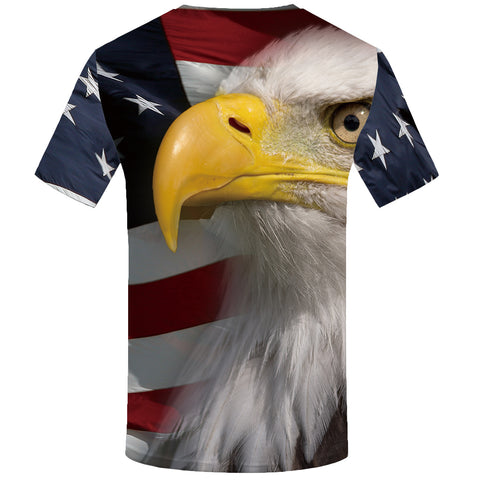 AMERICAN EAGLE FULL PRINT 3D T-SHIRT