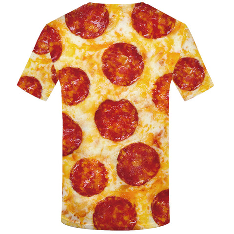 PIZZA FULL PRINT 3D T-SHIRT