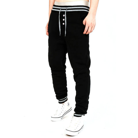 HEAVYWEIGHT COTTON-VELVET SWEATPANTS