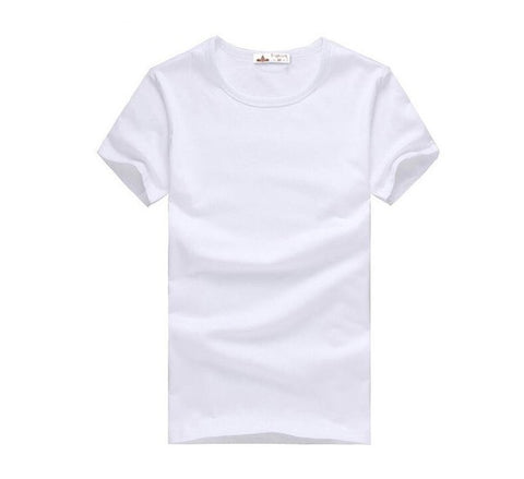 SHORT SLEEVE CONVENTIONAL POLYESTER CREW NECK T-SHIRT