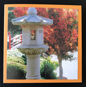 GREETING CARD   Japanese Garden   SPECIAL PRICE