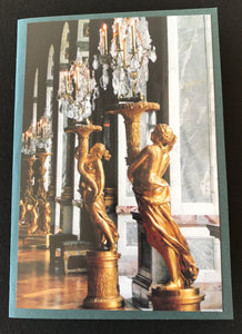 GREETING CARD   PARIS VIGNETTES  Versailles Hall of Mirrors   SPECIAL PRICE