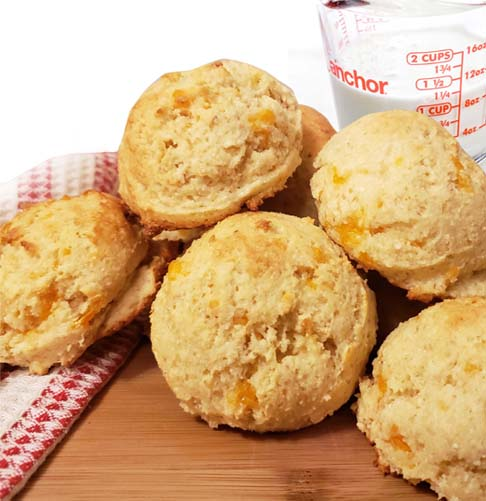 Keto Baking Mix - Cheese Buns
