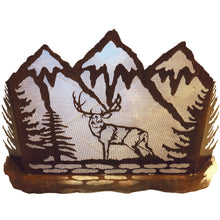 Fireplace Screen: Deer/Rust