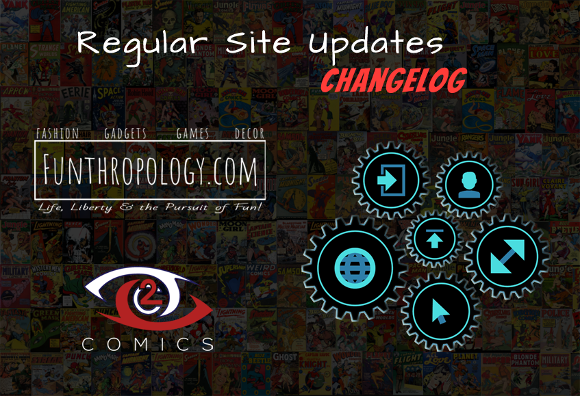 Funthropology Site Changelog
