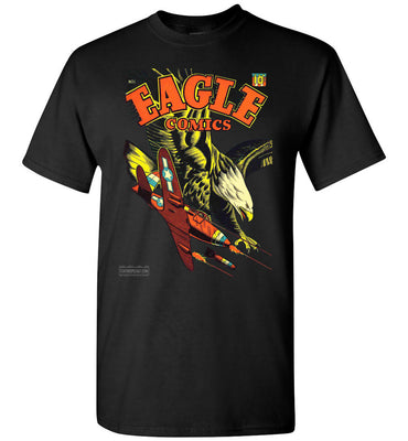 Eagle Comics No.1 T-Shirt (Unisex Plus, Dark Colors)