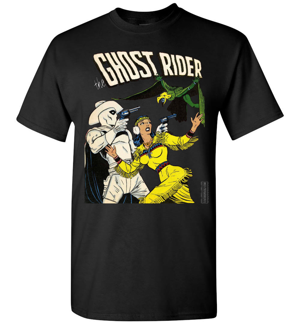The Ghost Rider No.9 T-Shirt (Unisex Plus, Dark Colors)