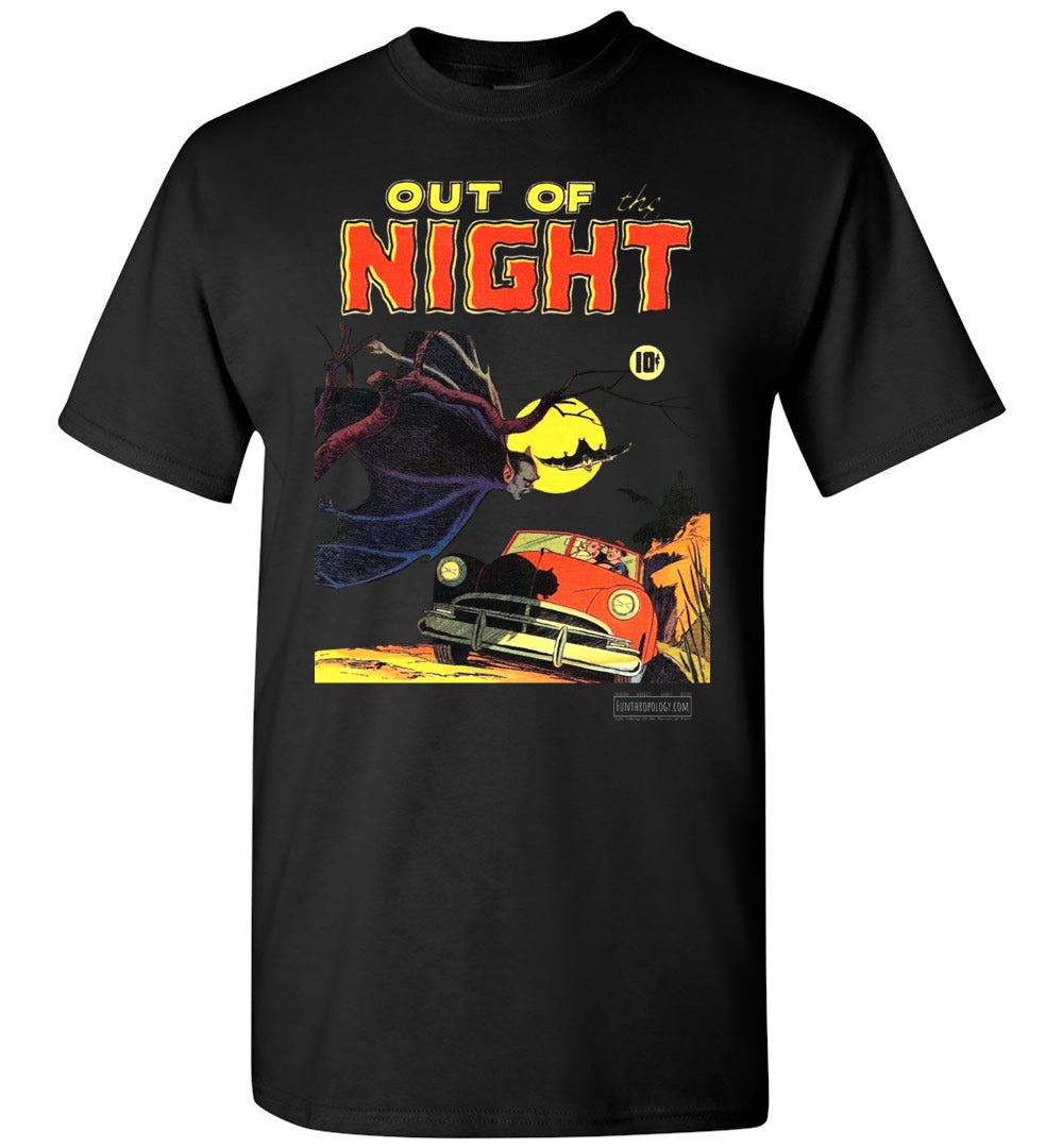 Out Of The Night No.1 T-Shirt (Unisex, Dark Colors)