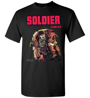 Soldier Comics No.10 T-Shirt (Youth, Dark Colors)