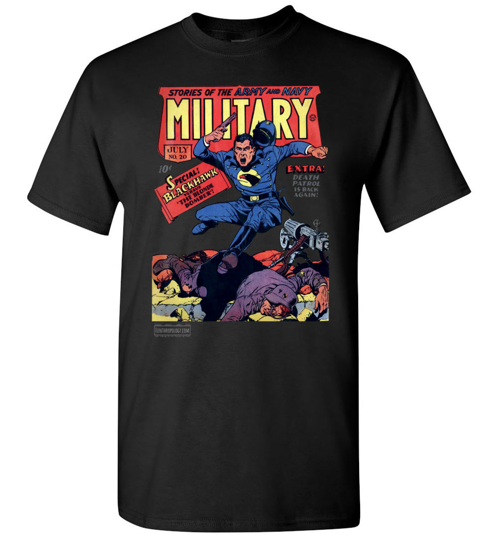 Military Comics No.20 T-Shirt (Youth, Dark Colors)