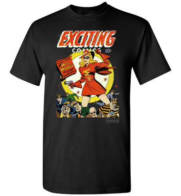 Exciting Comics No.53 T-Shirt (Youth, Dark Colors)