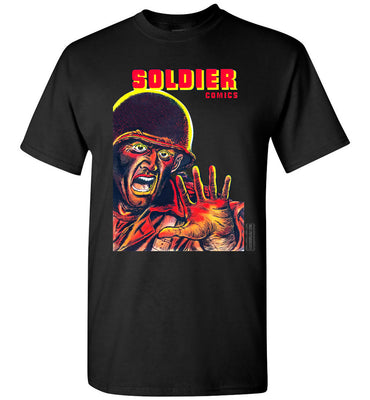 Soldier Comics No.8 T-Shirt (Youth, Dark Colors)