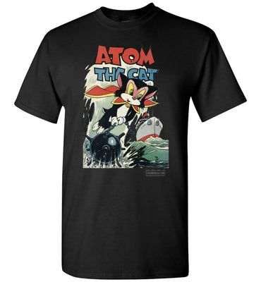 Atom The Cat No.10 T-Shirt (Youth, Dark Colors)