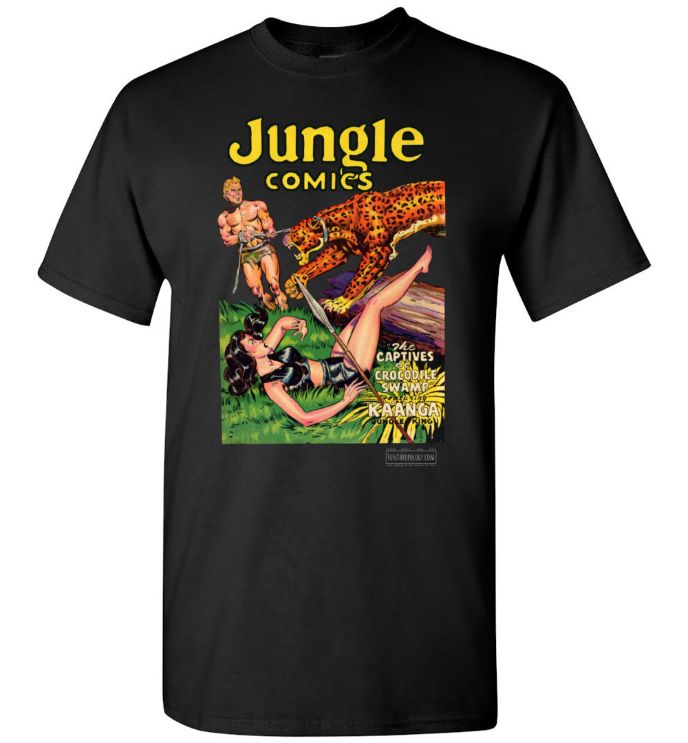 Jungle Comics No.129 T-Shirt (Unisex, Dark Colors)