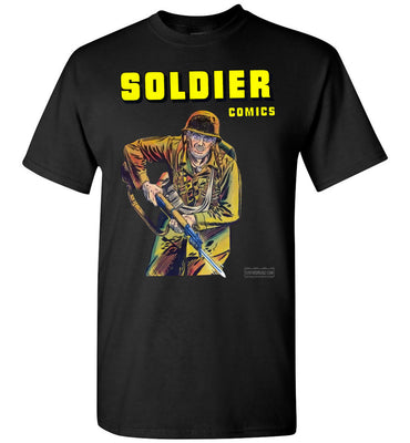 Soldier Comics No.5 T-Shirt (Youth, Dark Colors)