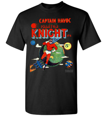 The Phantom Knight No.4 T-Shirt (Unisex, Dark Colors)