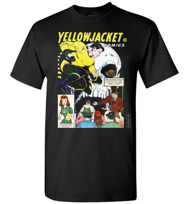 Yellowjacket No.7 T-Shirt (Unisex, Dark Colors)