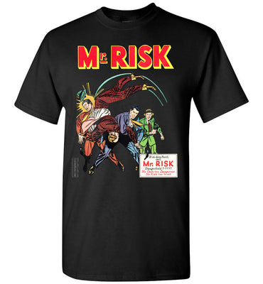 Mr. Risk No.7 T-Shirt (Youth, Dark Colors)