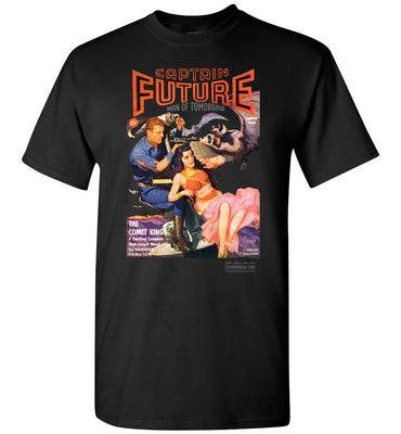 Captain Future No.11 T-Shirt (Unisex Plus, Dark Colors)