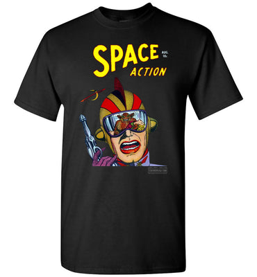 Space Action No.2 T-Shirt (Youth, Dark Colors)