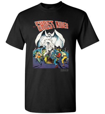 The Ghost Rider No.4 T-Shirt (Unisex, Dark Colors)