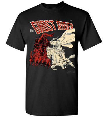 The Ghost Rider No.2 T-Shirt (Unisex, Dark Colors)