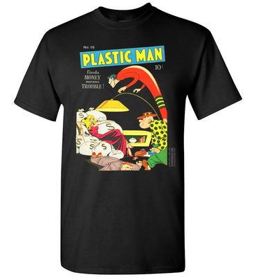 Plastic Man No.16 T-Shirt (Unisex, Dark Colors)