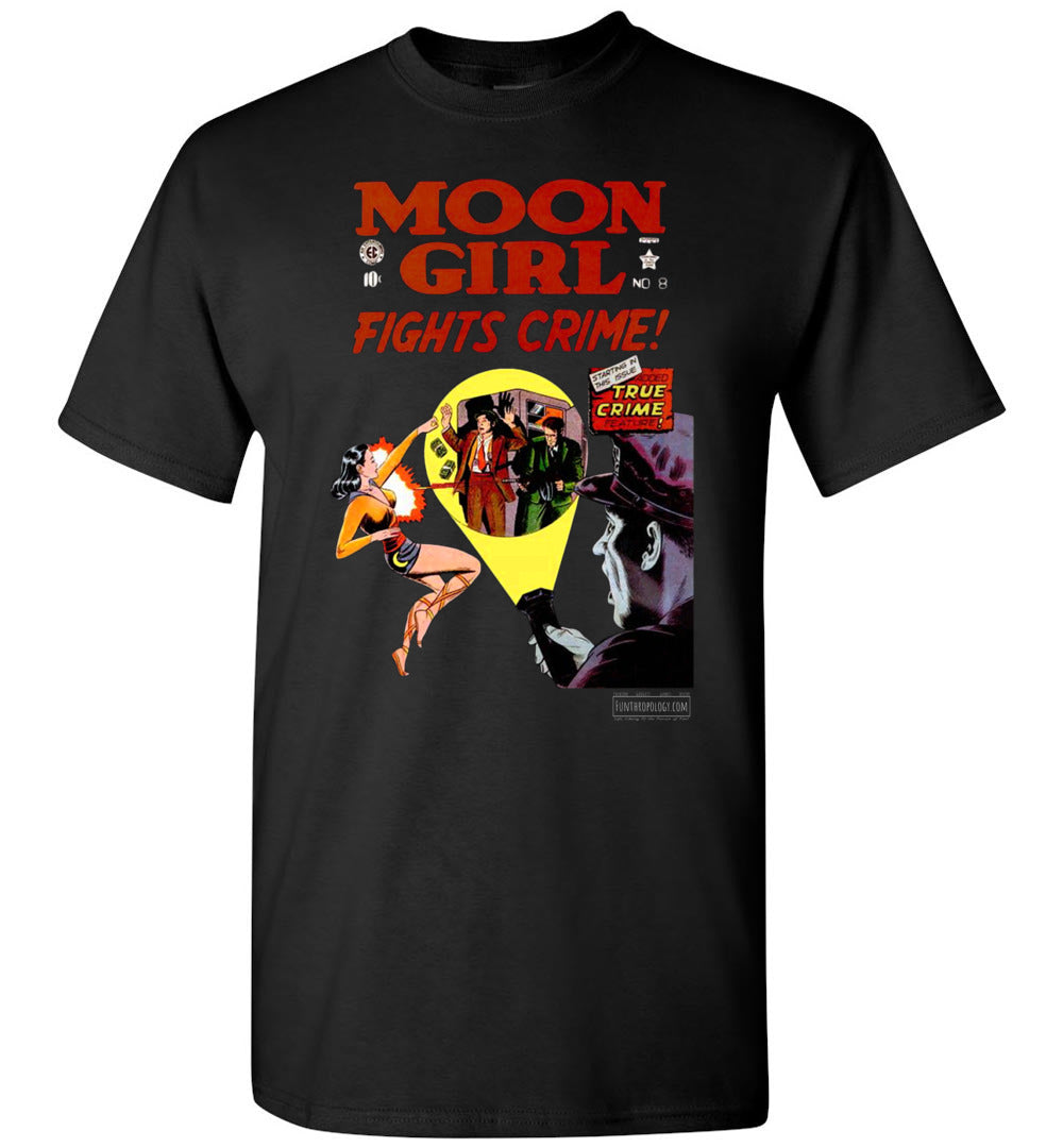 Moon Girl No.8 T-Shirt (Youth, Dark Colors)