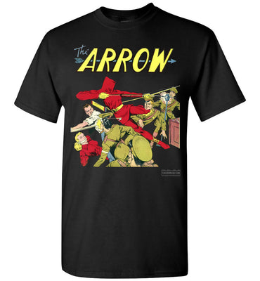 The Arrow No.3 T-Shirt (Unisex, Dark Colors)