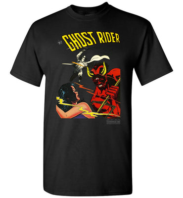 The Ghost Rider No.12 T-Shirt (Youth, Dark Colors)